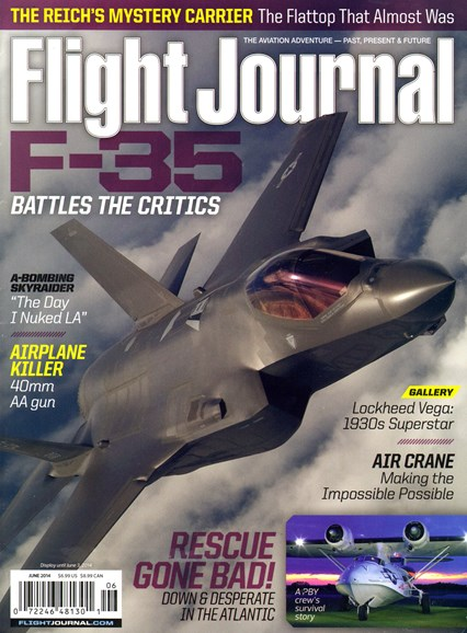 Flight Journal Cover - 6/1/2014