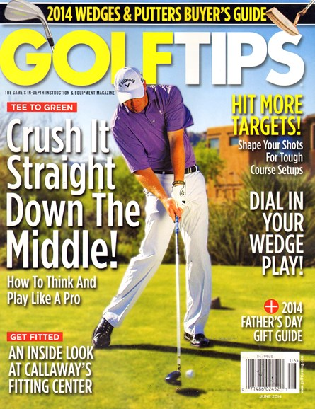 Golf Tips Cover - 6/1/2014