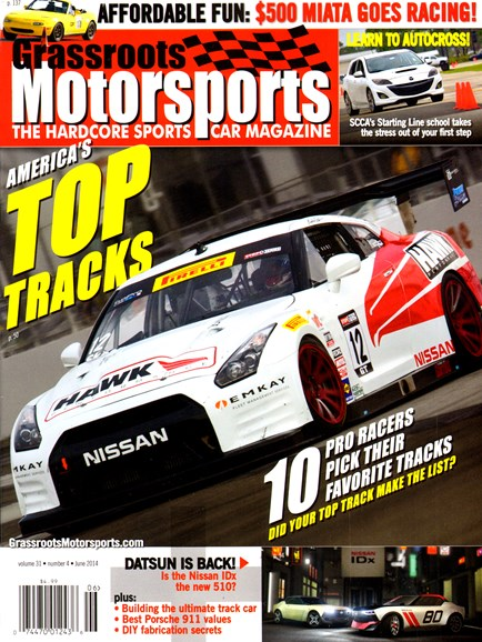 Grassroots Motorsports Cover - 6/1/2014