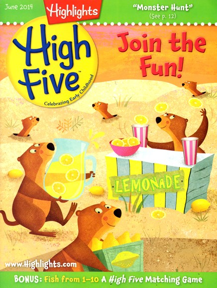 Highlights High Five Cover - 6/1/2014