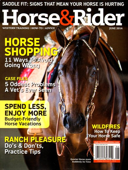 Horse & Rider Cover - 6/1/2014