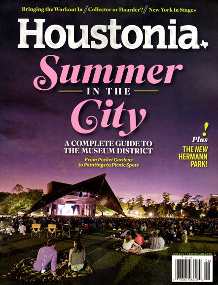Houstonia Cover - 6/1/2014