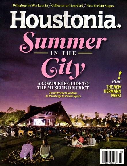 Houstonia Cover - 6/1/2014