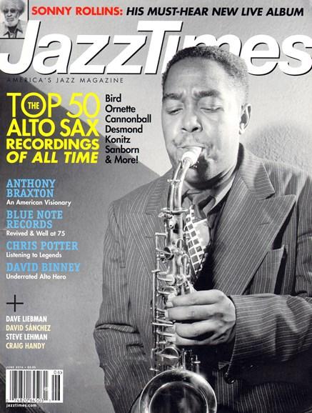 JazzTimes Cover - 6/1/2014