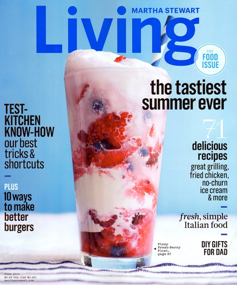Martha Stewart Living Cover - 6/1/2014