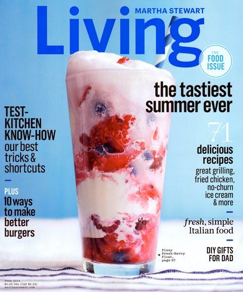 Martha Stewart Living Cover - 6/1/2014