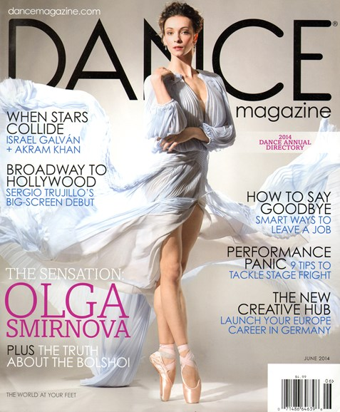 Dance Magazine Cover - 6/1/2014