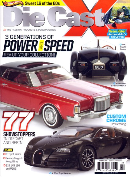 Diecast X Cover - 6/1/2014
