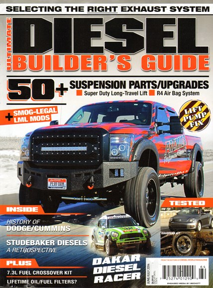 Ultimate Diesel Builder's Guide Cover - 6/1/2014