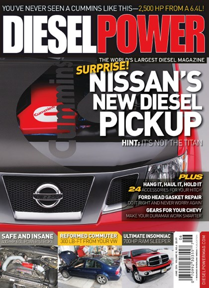Diesel Power Cover - 6/1/2014