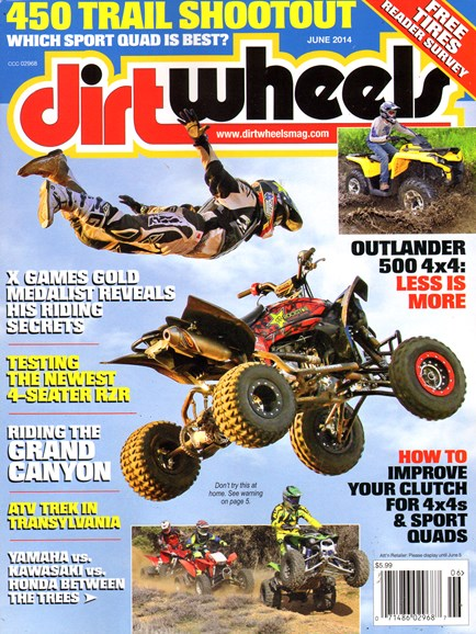 Dirt Wheels Cover - 6/1/2014