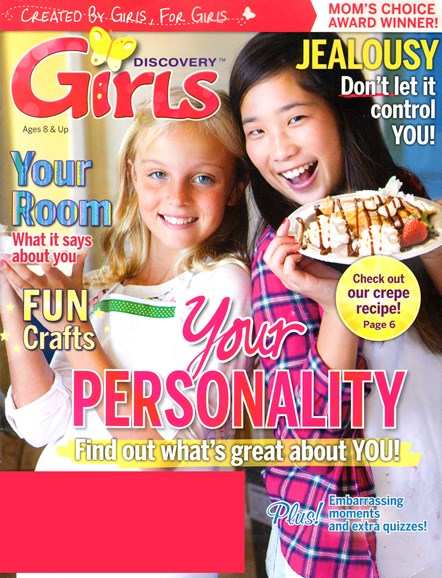 Discovery Girls Cover - 6/1/2014