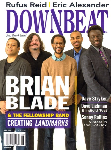 DownBeat Cover - 6/1/2014
