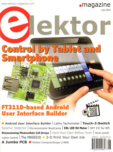 Elektor - North American Edition Cover - 6/1/2014