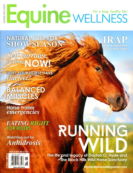 Equine Wellness Cover - 6/1/2014