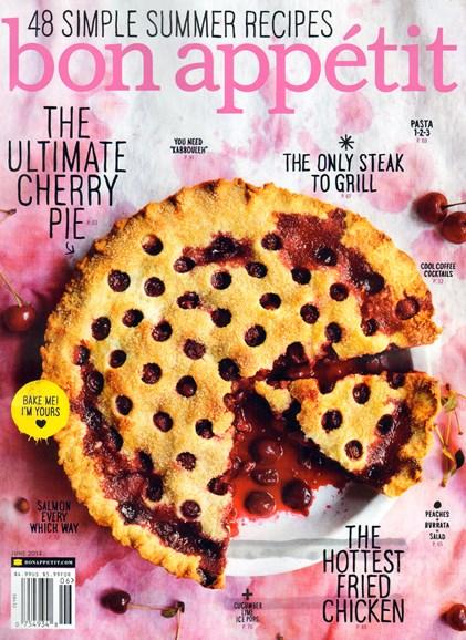 Bon Appétit Cover - 6/1/2014
