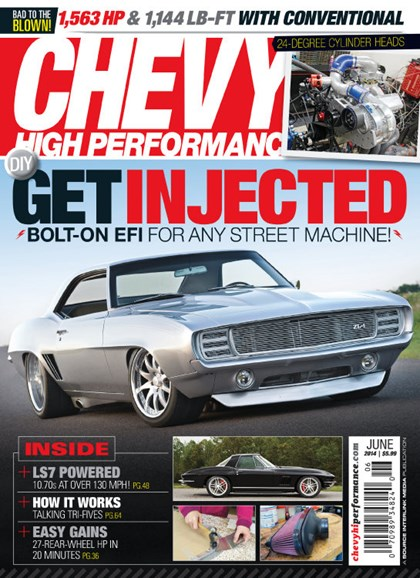 Chevy High Performance Cover - 6/1/2014