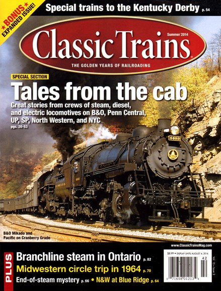 Classic Trains Cover - 6/1/2014