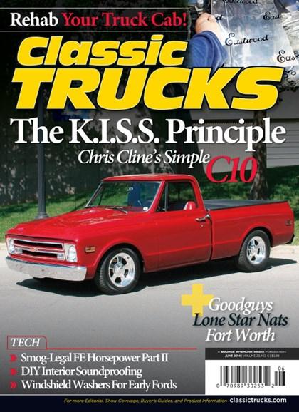 Classic Trucks Cover - 6/1/2014