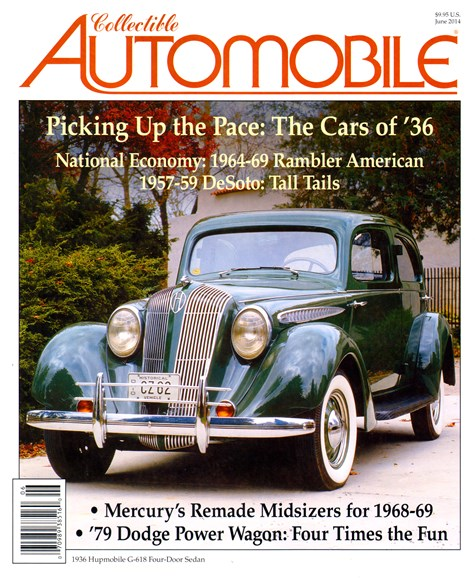 Collectible Automobile Cover - 6/1/2014