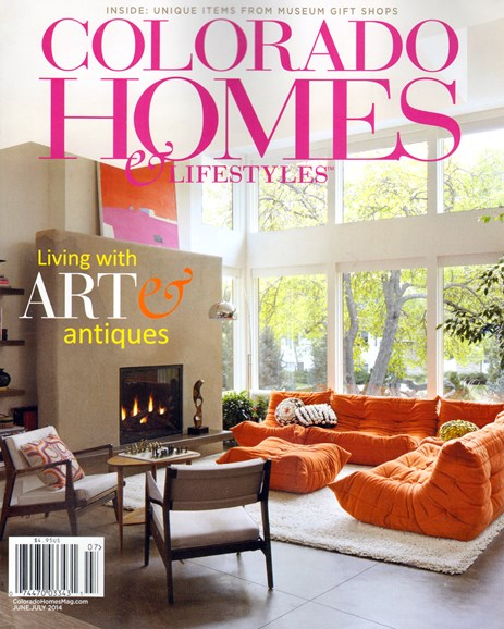 Colorado Homes & Lifestyles Cover - 6/1/2014