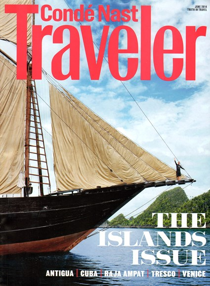 Condé Nast Traveler Cover - 6/1/2014