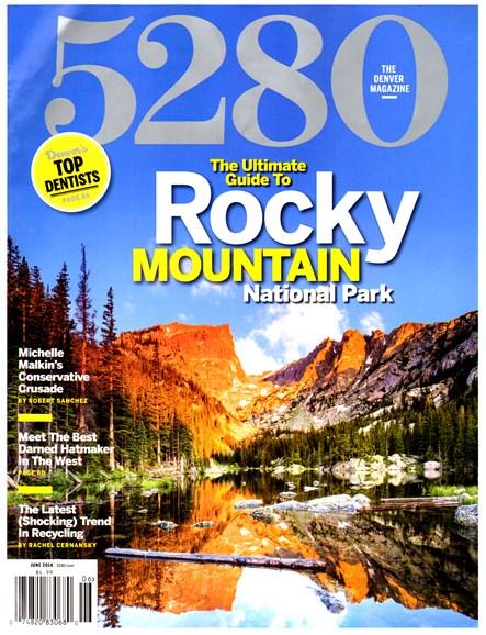 5280 Magazine Cover - 6/1/2014
