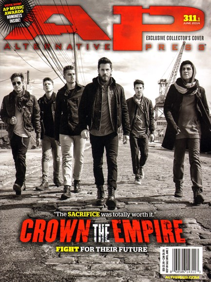 Alternative Press Cover - 6/1/2014