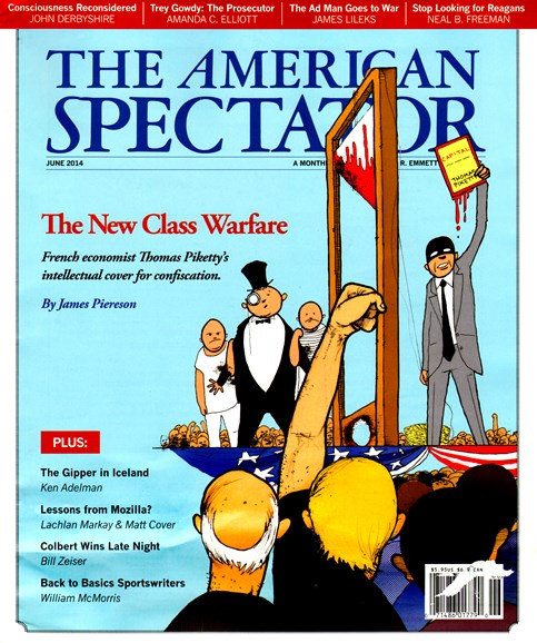 The American Spectator Cover - 6/1/2014