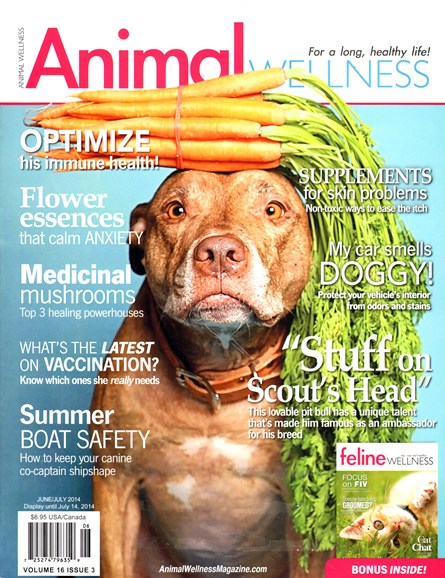 Animal Wellness Cover - 6/1/2014
