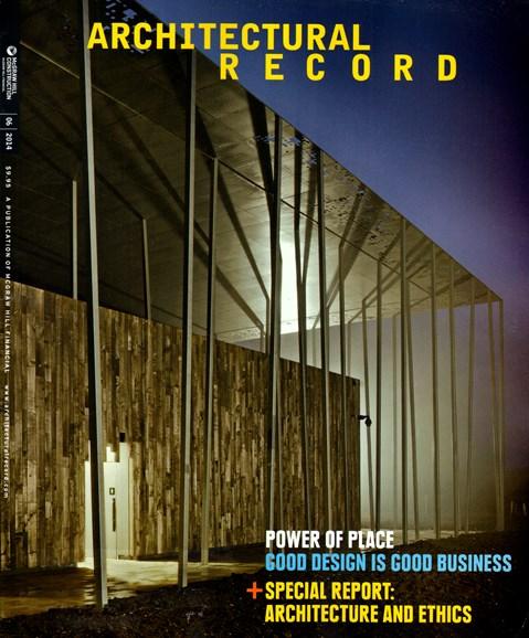 Architectural Record Cover - 6/1/2014