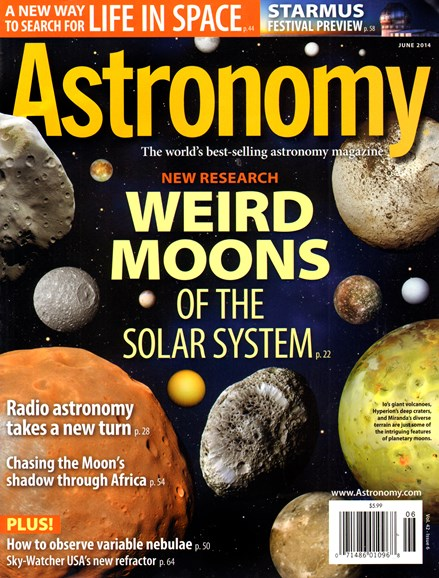 Astronomy Cover - 6/1/2014