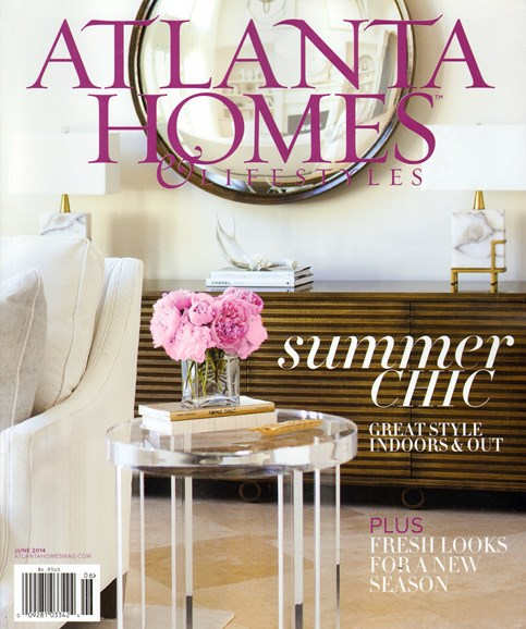 Atlanta Homes & Lifestyles Cover - 6/1/2014
