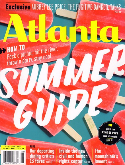 Atlanta Magazine Cover - 6/1/2014