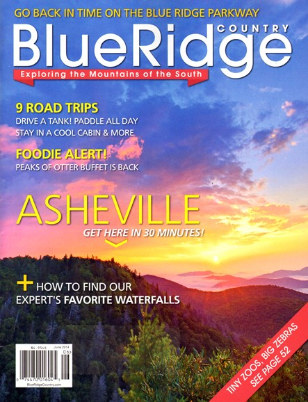 Blue Ridge Country Cover - 6/1/2014