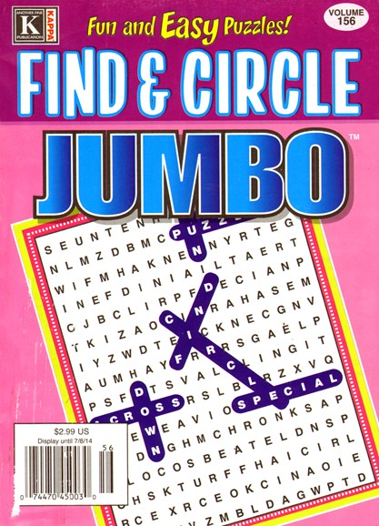 Find & Circle Jumbo Cover - 6/1/2014