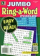 Jumbo Ring a Word Magazine 9/1/2014