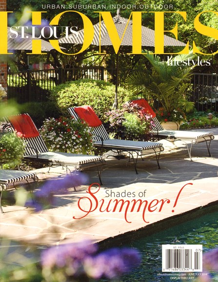 St. Louis Homes & Lifestyles Cover - 6/1/2014