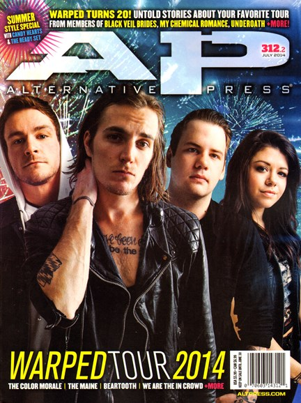 Alternative Press Cover - 7/1/2014