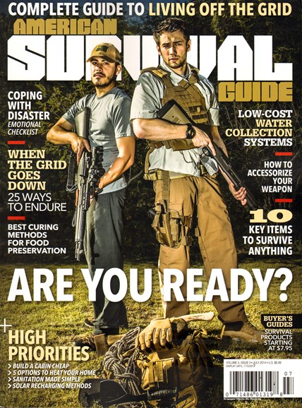 American Survival Guide Cover - 7/1/2014