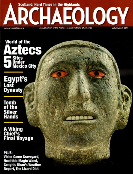 Archaeology Cover - 7/1/2014