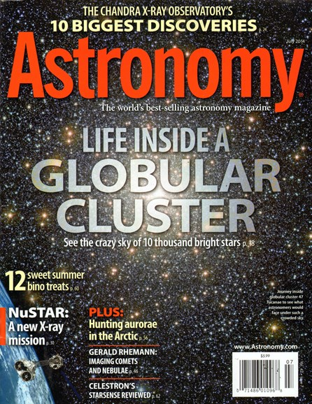 Astronomy Cover - 7/1/2014