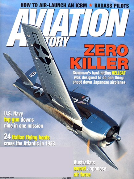 Aviation History Cover - 7/1/2014