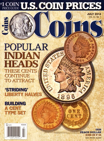 Coins Cover - 7/1/2014