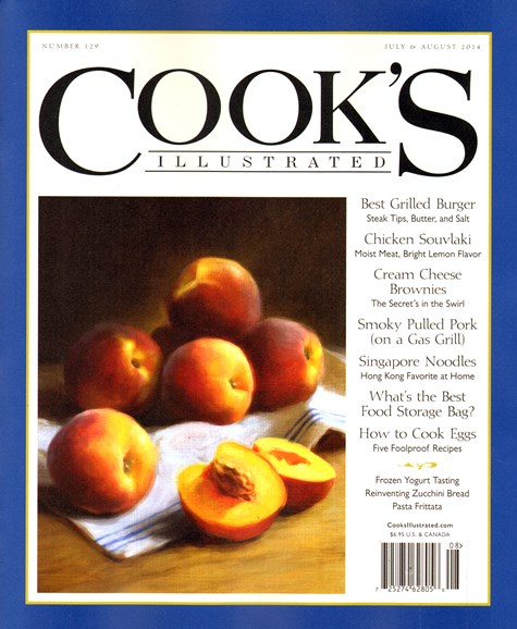 Cook's Illustrated Cover - 7/1/2014
