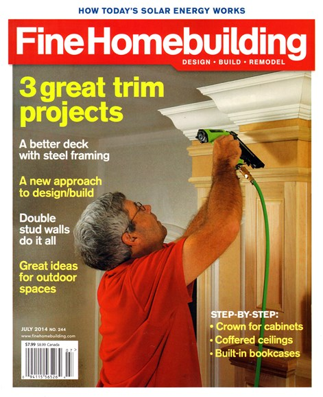 Fine Homebuilding Cover - 7/1/2014