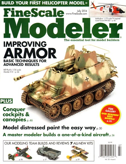 Finescale Modeler Cover - 7/1/2014
