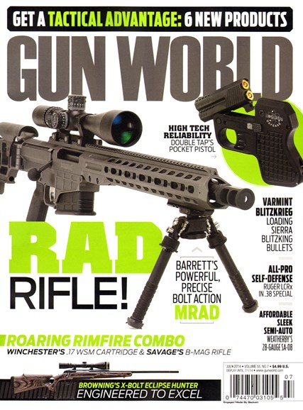 Gun World Cover - 7/1/2014