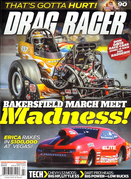 Drag Racer Cover - 7/1/2014