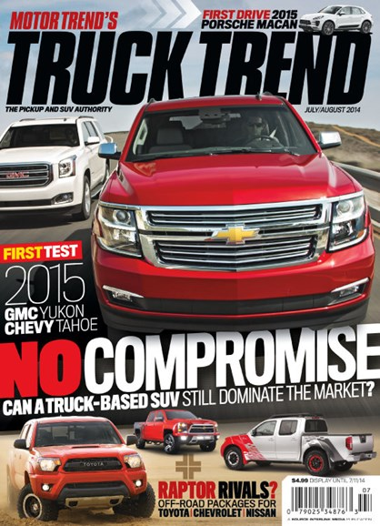 Truck Trend Cover - 7/1/2014